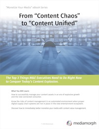 eBook Content Chaos to Unified